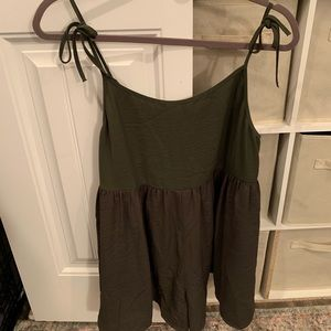 Urban Outfitters Olive Green Romper M